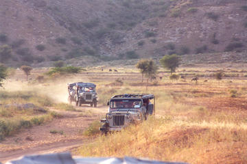 Jeep Safari of Jaipur countryside