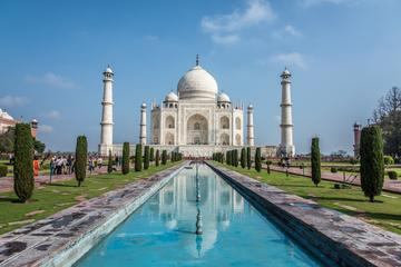 Stones Set in History: A Tour of Taj Mahal and Agra Fort