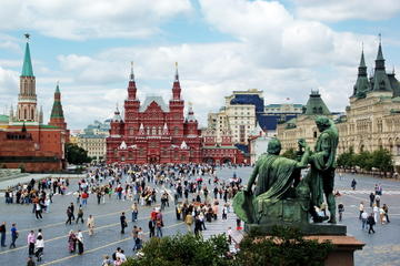 St Petersburg Shore Excursion: Moscow Day Trip