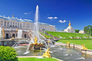 St Petersburg Shore Excursion: Small-Group Pushkin, Peterhof and...