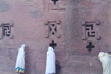 Visiting churches of lalibela