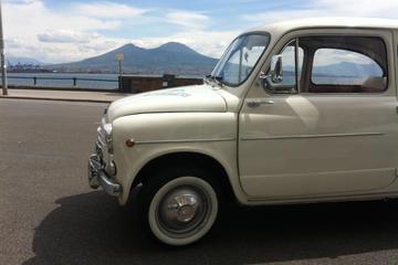 Tour privato: tour con degustazione di cibi in Fiat 500 o Fiat 600