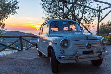 Visite privée: visite de Naples en Fiat500 d'époque ou Fiat600