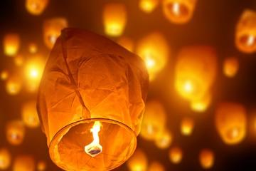 Discover Waterfall And Sky Lantern