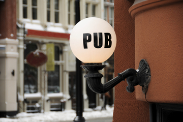 Londoner Pub Reisepass