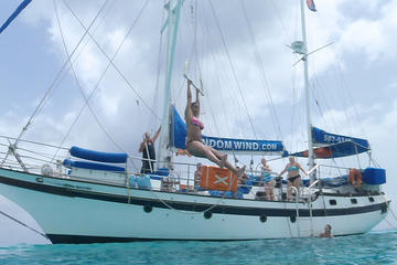 St Maarten Shore Excursion: Sailing Tour with Snorkeling and...