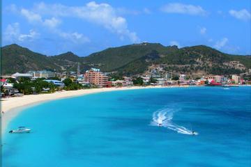Zeilen en winkelen in Sint Maarten
