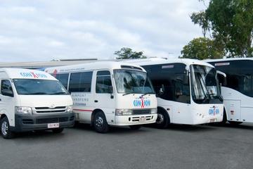 Gemeinsamer Transfer bei der Abreise: Sunshine Coast zum Flughafen...