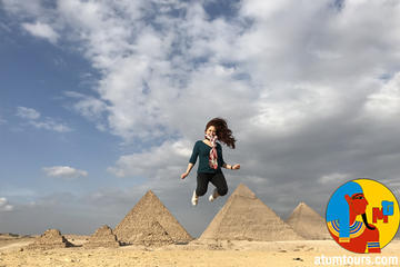 Budject Private Full Day Tour Pyramids Memphis Sakkara , Private Guide and car