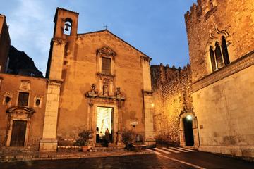 Tour serale a piedi di Taormina