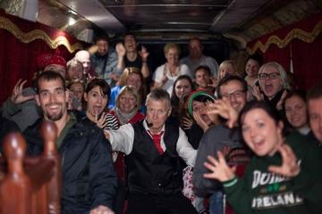 Excursão de ônibus fantasma em Dublin