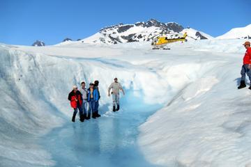 Vol en hélicoptère à Juneau et balade guidée sur la glace