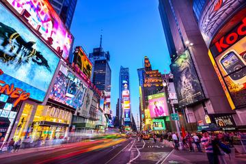 NYC Broadway Tour at Night