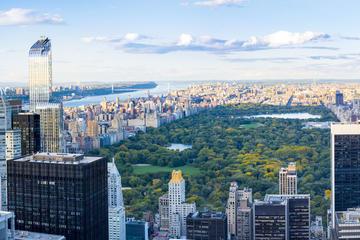 Top of the Rock & Central Park Walking tour with Bike Option
