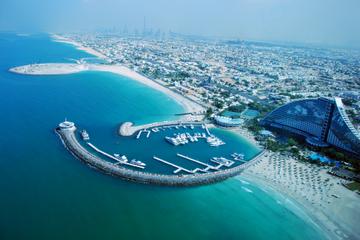 Dubai-combi: helikoptervlucht en ervaring in een woestijnkamp per 4x4