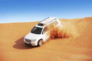 Dubai Super Saver: Desert Camp Experience by 4x4 and Dhow Dinner...