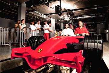 Entrada a Ferrari World en Abu Dhabi