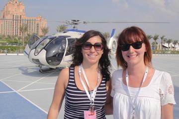 Excursion combinée à Dubaï: vol en hélicoptère et visite de la ville