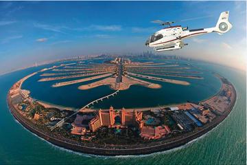 Helikoptertur över Dubai