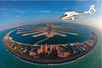 Helikoptervlucht in Dubai