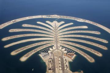 Motorbåtskryssning till Palm Jumeirah i Dubai
