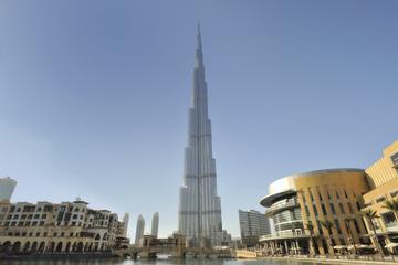 """No topo"" do Burj Khalifa, incluindo chá da tarde no Burj Al-Arab"