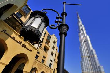Visite touristique de Dubaï avec visite «au sommet» et déjeuner à...