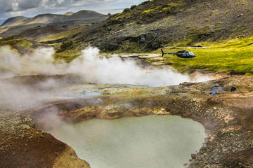 Fire and Ice Helicopter Tour from...