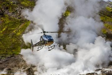 Helikoptertur över Reykjavik: Geotermiska landskap