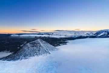 Helikoptervlucht vanuit Reykjavik: Thingvellir National Park en de ...