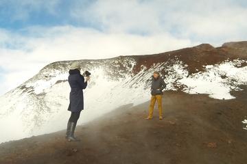 Vol en hélicoptère au départ de Reykjavik: glacier et volcans...