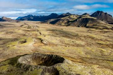 Vol en hélicoptère à Reykjavik: péninsule de Reykjanes et paysages...