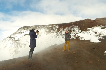 Voo de helicóptero de Reykjavik: Geleira Eyjafjallajokull e vulcões