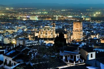 Excursión a pie de noche por Granada...