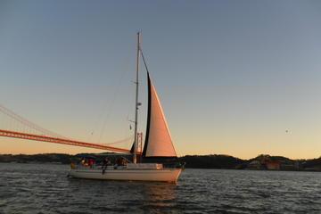 Tour privato: crociera al tramonto sul fiume Tago a Lisbona