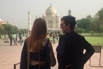 Agra same Day Sunrise Tour of Taj Mahal  from Delhi