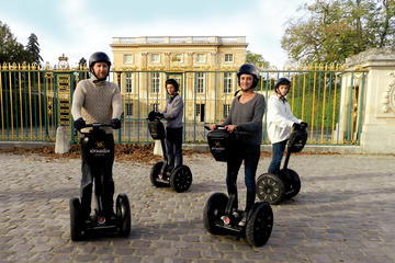 Tur med ståhjuling i hagene i Versailles
