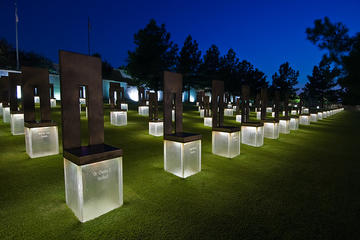 Book A Moment in Time Illuminated Night Tour Oklahoma City National Memorial & Museum on Viator