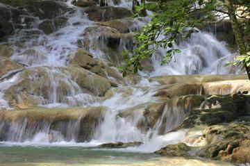 Excursion à Mayfield Falls, en Jamaïque
