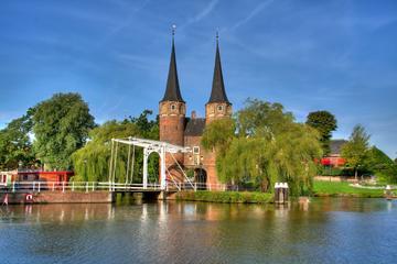 Excursão a pé privada: História real e porcelana de Delft