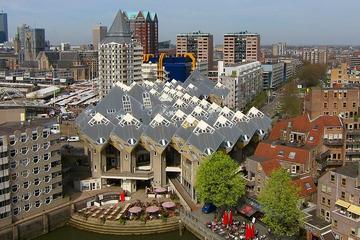 Visite privée: visite à pied de Rotterdam avec croisière dans le port