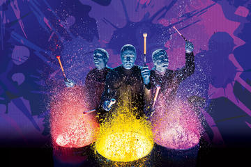 Blue Man Group Show in het Universal Orlando Resort