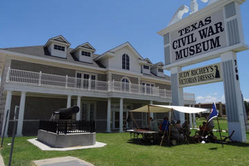 Day Trip Texas Civil War Museum, Log Cabin Village, and Fort Worth Cattle Drive Admission near Fort Worth, Texas