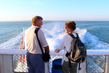 Croisière touristique dans le port de Darwin