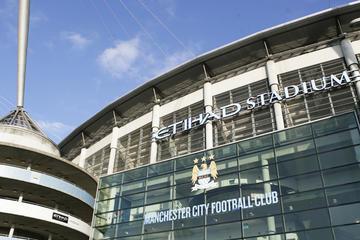 Excursão dos bastidores do Manchester City FC do Estádio Etihad