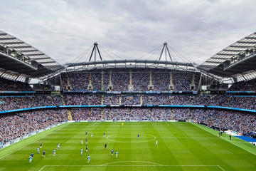 Manchester City FC Legends Stadium...