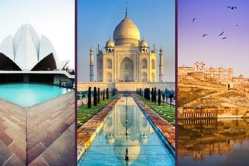 Five Days Luxury Golden Triangle Tour (Delhi-Agra-Jaipur-Delhi)