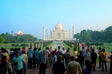 Early Morning Taj Mahal Sunrise Tour From Delhi