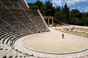 Mycenae-Epidaur-Corinth-Olympia-Delphi 3 Days Private Tour