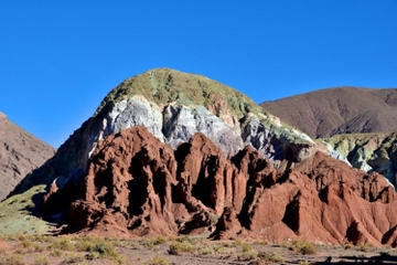 Excursão pelo Valle Arcoiris saindo de San Pedro de Atacama